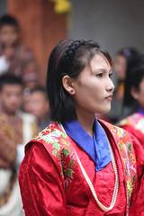 Jakar tshechu, Lhomen Drukyul Jongsu, dancer