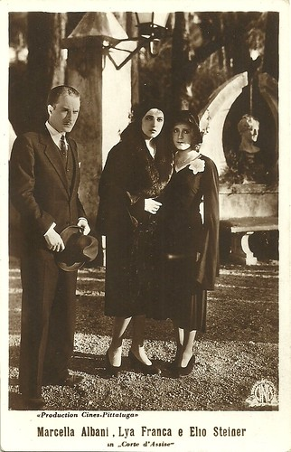 Marcella Albani, Lya Franca and Elio Steiner in Corte d'Assise
