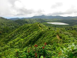 Lake Grand Etang in Grenada