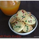 tutti fruitti cookies