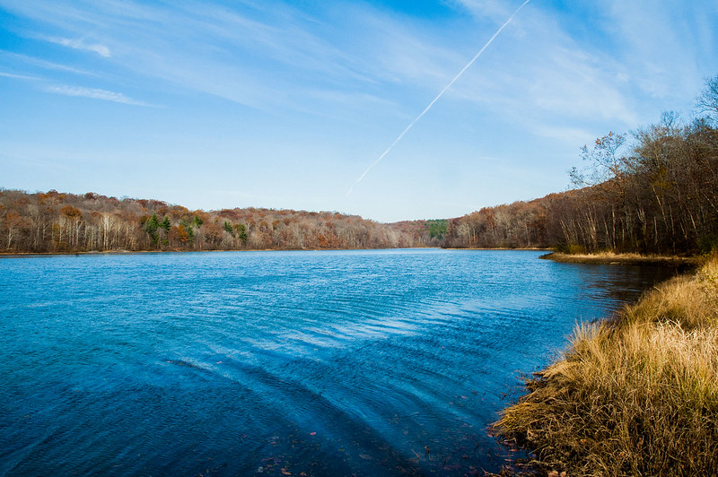 Hoosier National Forest - Indian and Celina Lakes - November 8, 2014