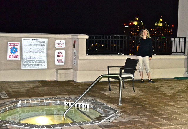 holiday inn express savannah - rooftop