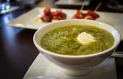 Green Velvet Soup - Slow roasted zucchini and leek…