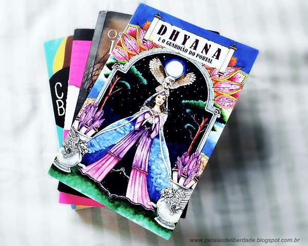 Dhyana e o guardião do portal, Denise Dourado Oliveira, capa, livro, trechos, resenha