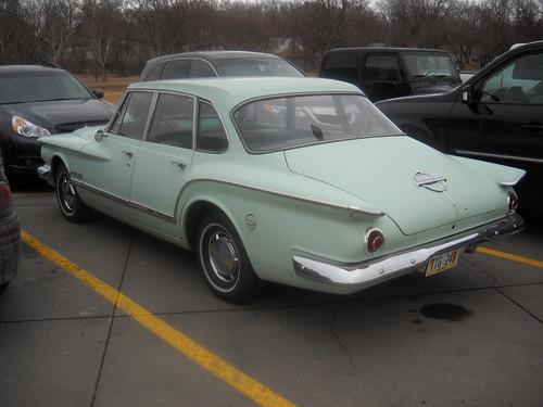 Plymouth Valiant [rear]
