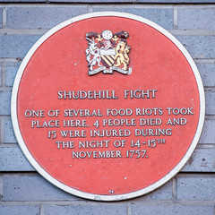 Photo of Shudehill Fight red plaque
