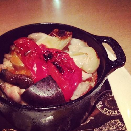 鶏肉のダッジオーブン料理