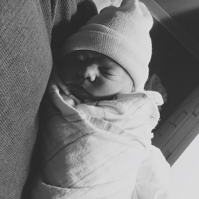 Welcome to the world my love! Sinclair Elizabeth Oliver, born 2/4/15, 7:30am, 7 lb 4 oz.