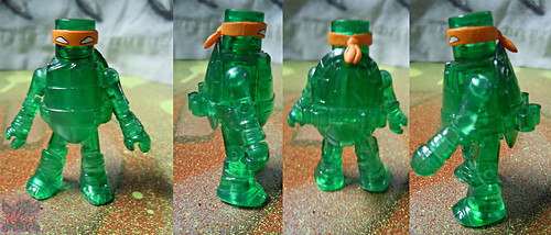 Nickelodeon  TEENAGE MUTANT NINJA TURTLES ; MINIMATES :: MUTAGEN MICHELANGELO iii (( 2014 ))