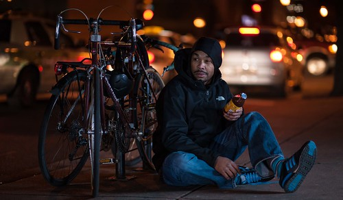 street selfportrait color philadelphia night nikon dof citylife 85mm snapple nightscene speedlights nikoncls su800 d700 sb700 troyhoodimages tehimages photographsomeofthebeststuffonearth