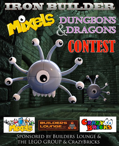 Iron Builder's MIXELS D&D Contest