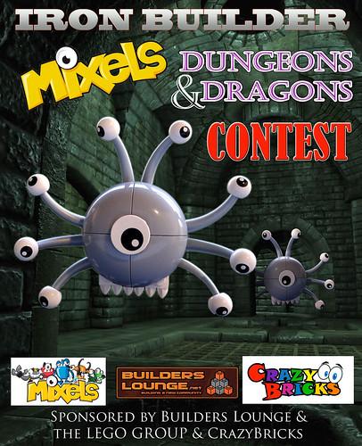 Iron Builder's MIXELS D&D Contest