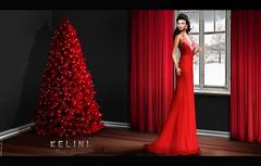 . K E L I N I .  Holliday Mesh Dress