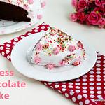eggless choco cake