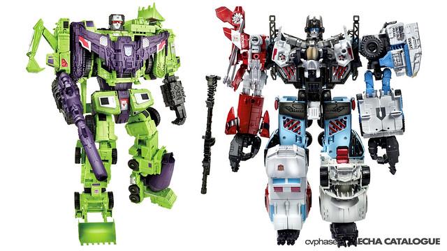 "TRANSFORMERS Generations ""Combiner Wars"" - Constructicons"