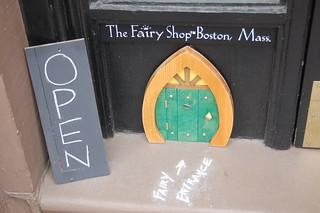The Fairy Shop, Newbury Street, Boston