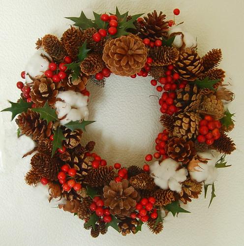 ★クリスマスリース★藤野から・・・