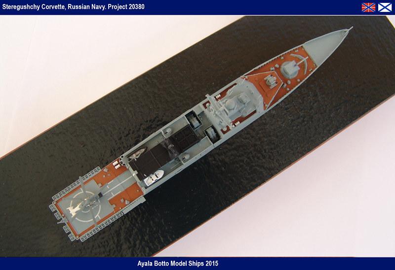 Corvette Russe Steregushchy 530, Project 20380 - Gwylan Models / Combrig 1/700 16002267014_aab71649b8_c