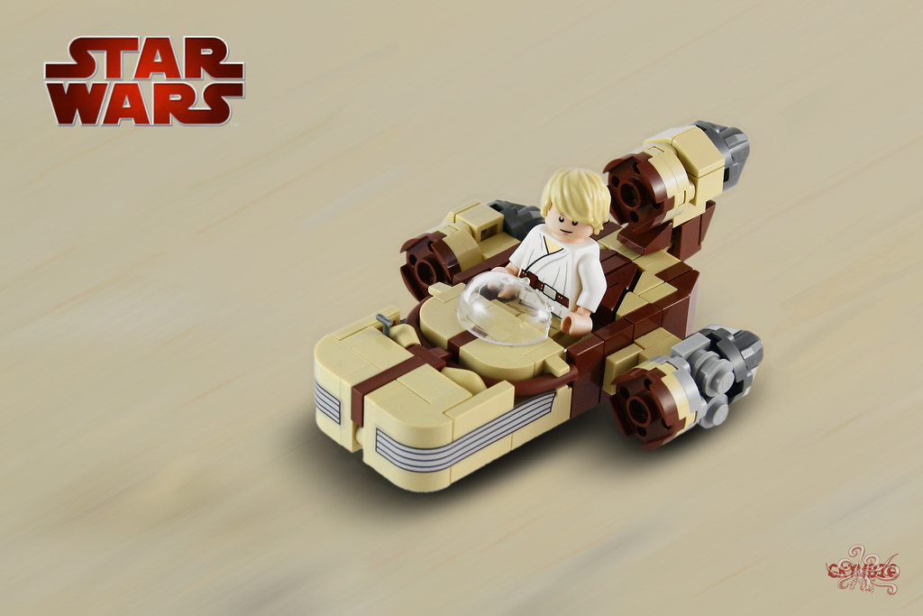 Micro Landspeeder, by 6kyubi6, on Eurobricks