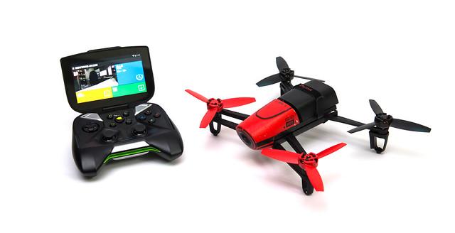Parrot Bebop Drone 控制器另一選擇 – Nvdia Shield @3C 達人廖阿輝