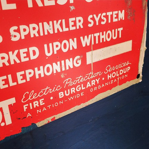 Electric Protection Services #lettering