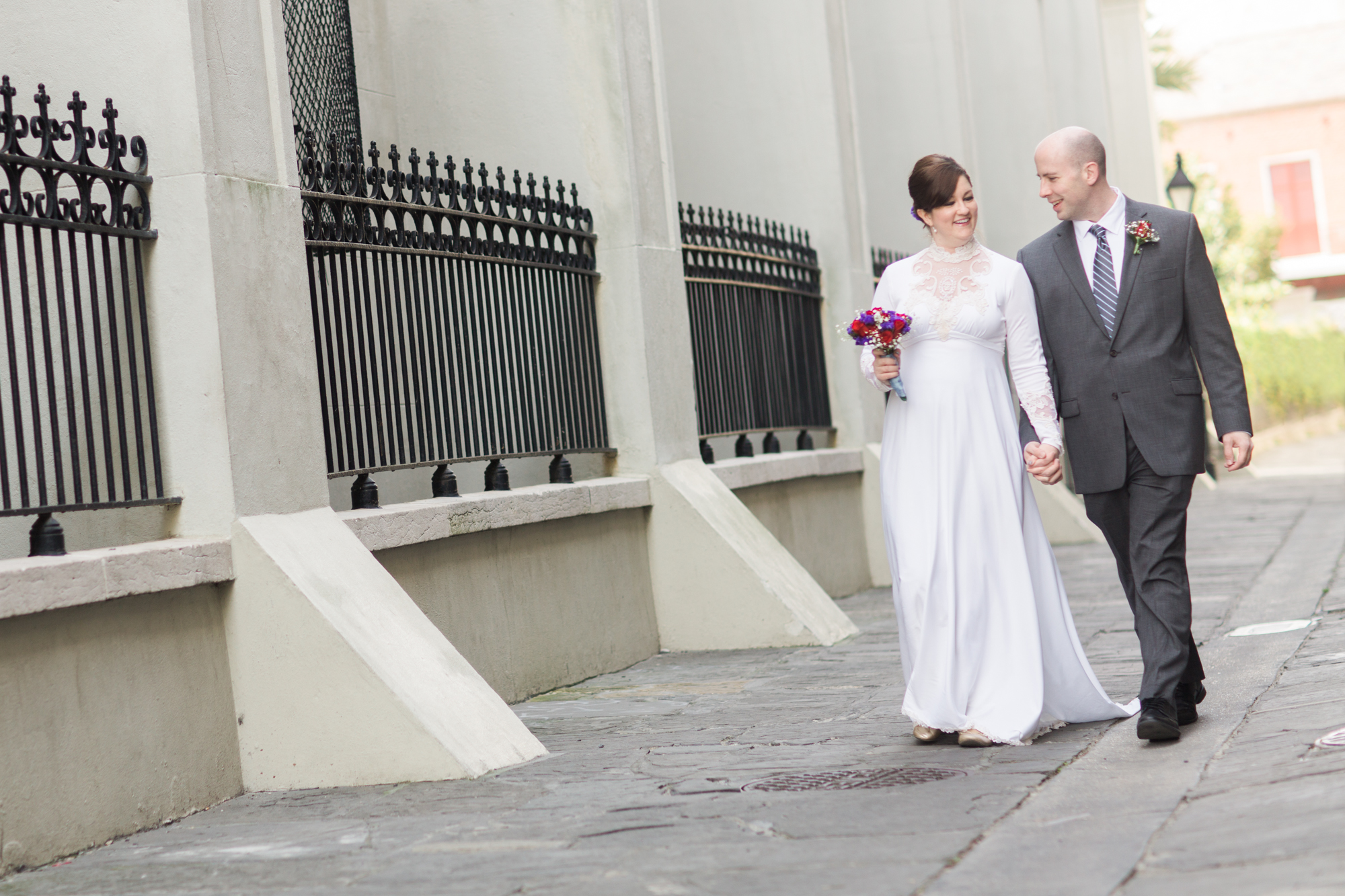 Jackson Square Wedding Day
