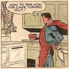 He's a #Superman in the kitchen, too! #Comics