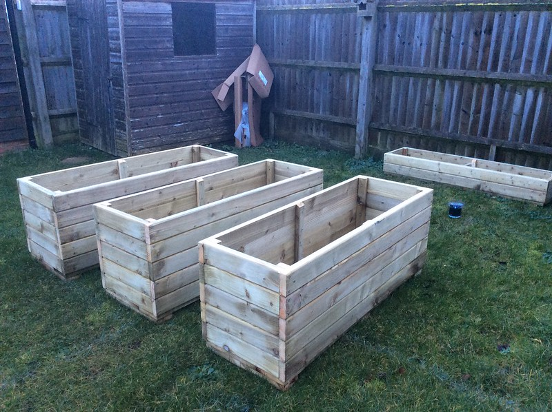Planters for the front garden