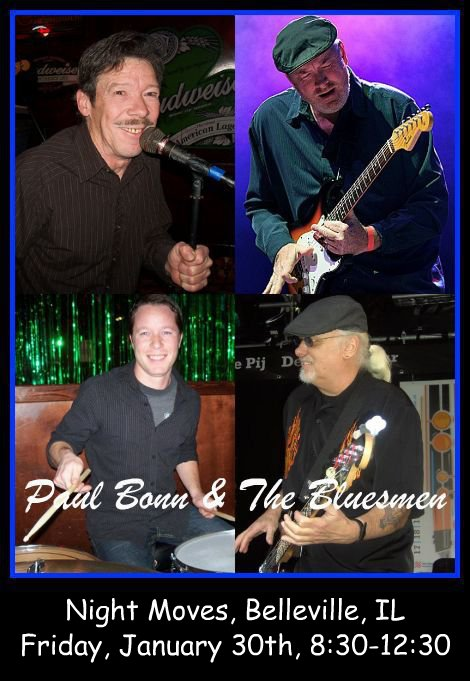 Paul Bonn & The Bluesmen 1-30-15