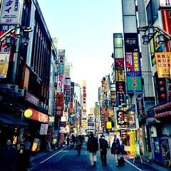 #tokyo streets at dusk