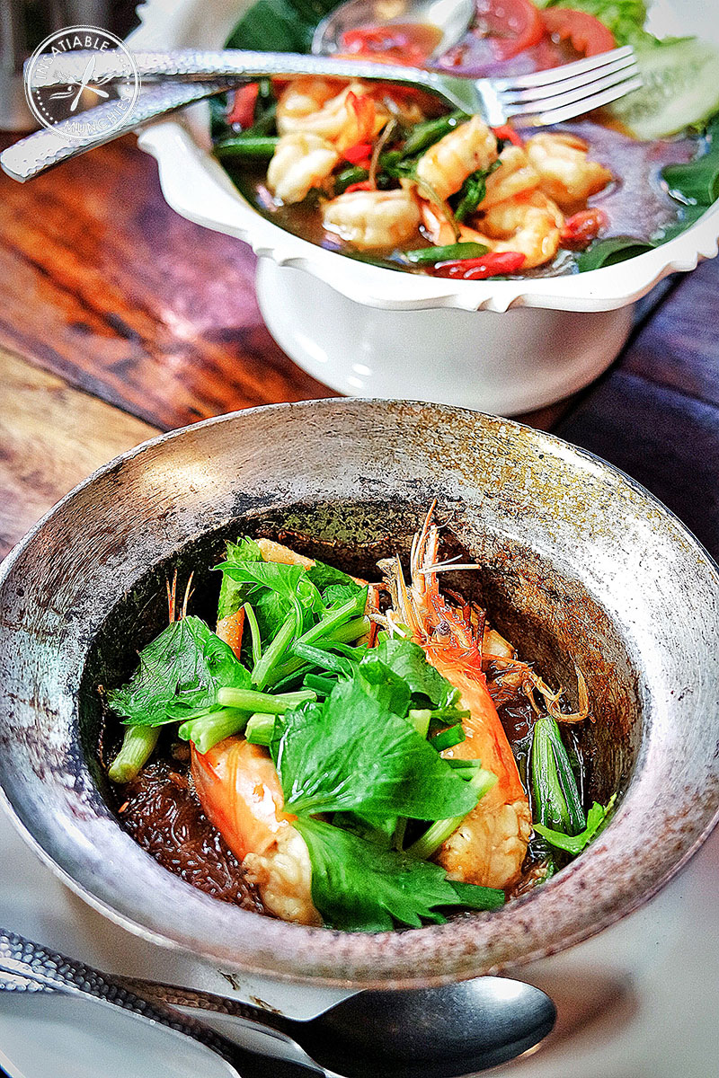 prawn and glass noodle
