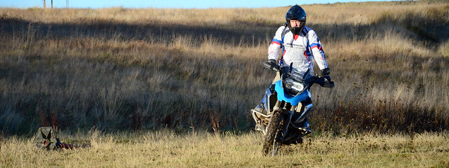 Offroad with Motorrad