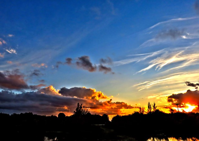 Sunrise Clouds HDR COREL 20150111