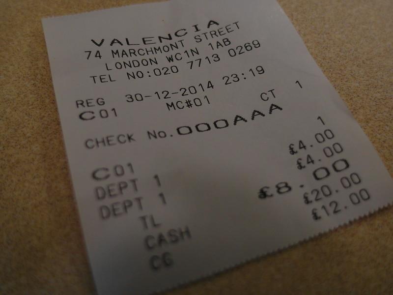 17度C遊倫敦-推薦國王十字周邊美食。Valencia。瓦倫西亞咖啡廳。 (14)
