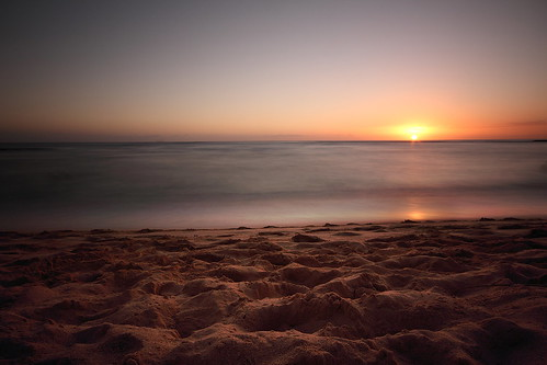 ocean longexposure sunset usa beach nature canon landscape island hawaii pacific unitedstatesofamerica wideangle hawai t3i 600d kiahunabeach gsamie guillaumesamie