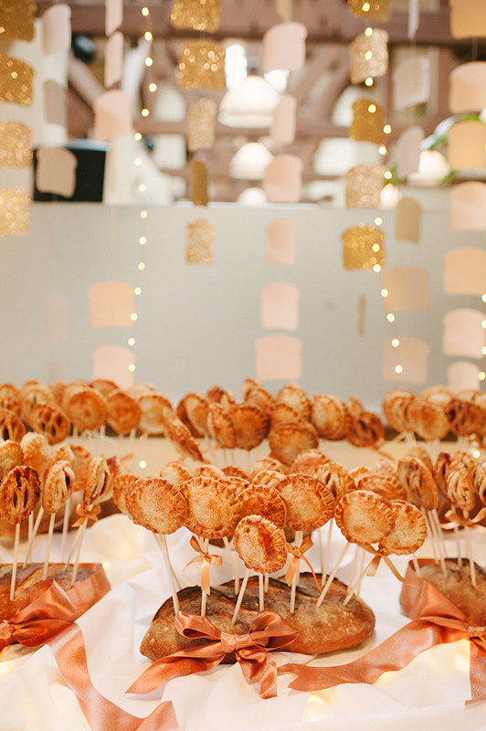 Real Wedding: PBJ Wedding Pie Pops