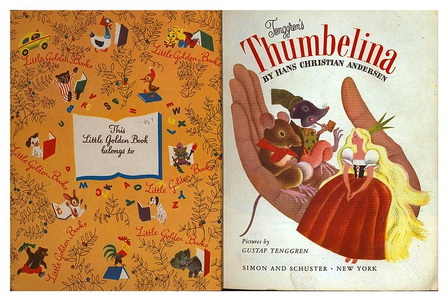 007-Tenggren's Thumbelina-Illustrated Gustaf Tenggren-Copyright 1953-via goldengems.blogspot