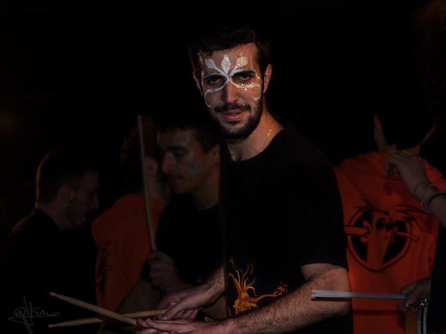 La mirada del tambor. Cabalgata de Reyes Magos 2015. Sant Joan Despí