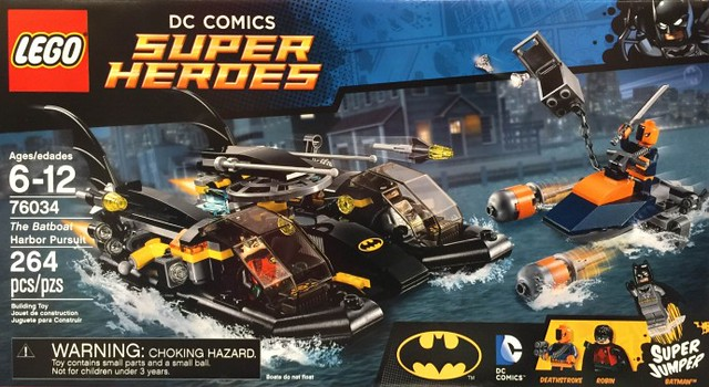 LEGO Super Heroes DC Comics 76034 - The Batboat Harbor Pursuit