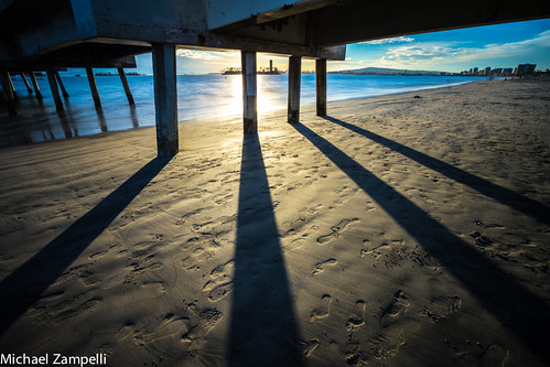 Footprints Under the Pier