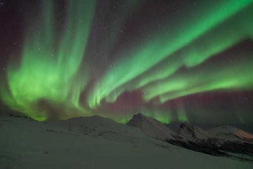 Polar night in Troms