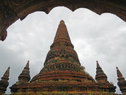 Sein Nyet Pagoda in Bagan, Myanmar