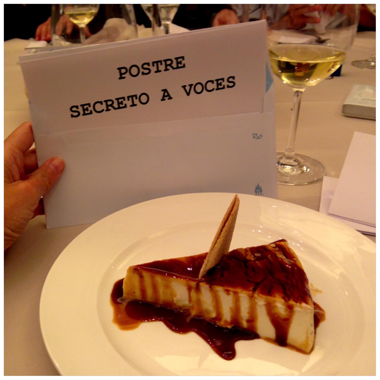 Postre Secreto a Voces