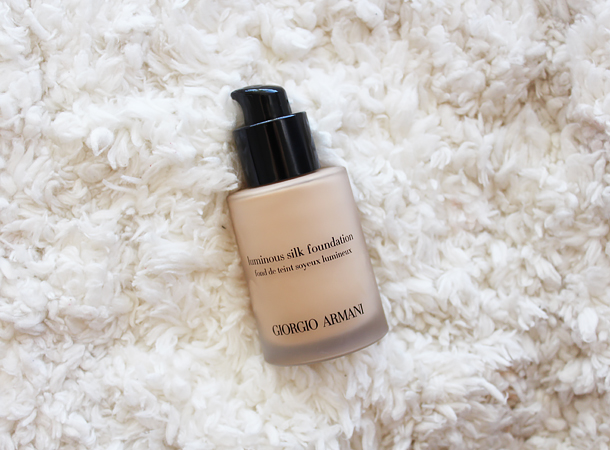 giorgio armani luminous silk foundation review n5 #5 nars sheer glow punjab nc30 swatch match