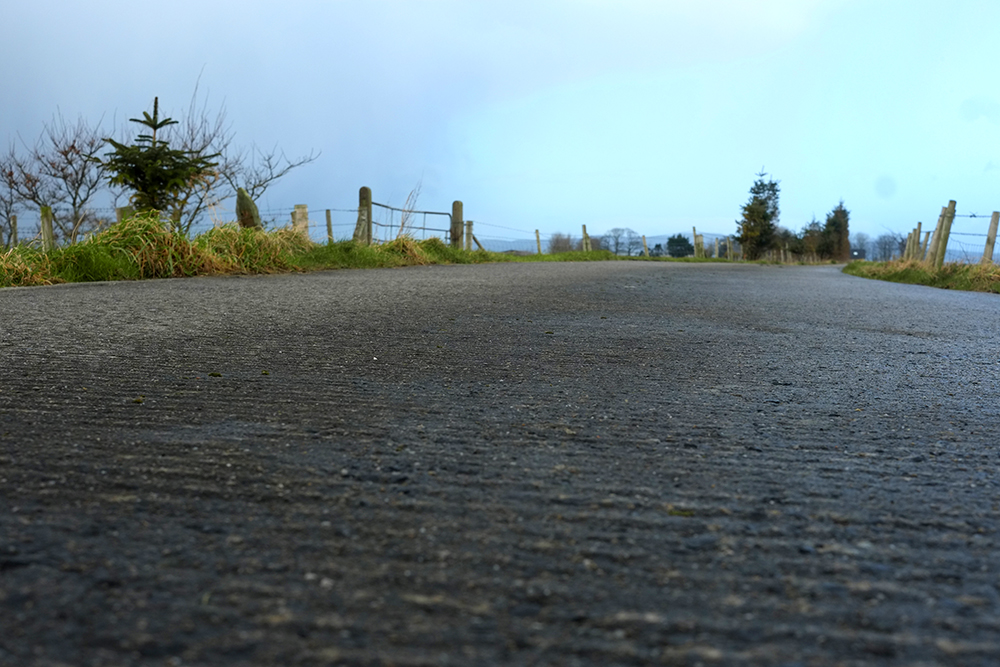 Tined Concrete Lane, Northern Ireland