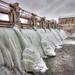 Iced Dam by RochesterTee