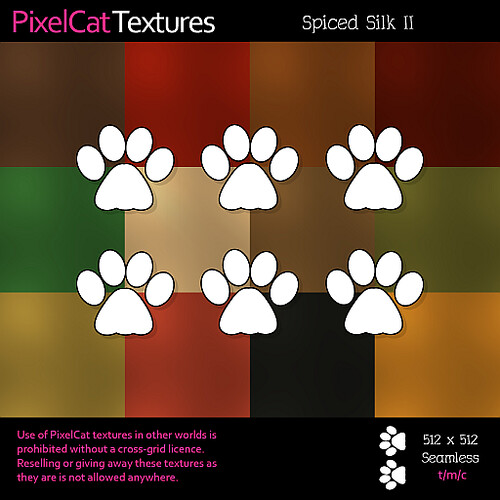 PixelCat Textures - Spiced Silk II