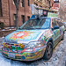 California Hippie Car in Manhattan