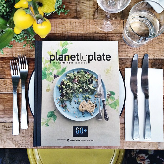 Meet #PlanetToPlate, a cookbook created by @earthhour_australia and top Aussie chefs to celebrate the farmers who grow our food and the impact climate change has on what we eat!   The environment is not just some far off rainforest, it's the food on your