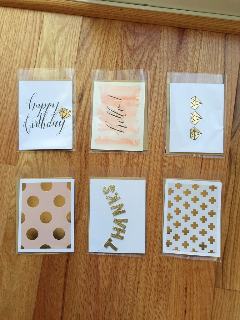 DIY cards, glitter card stock, you're a gem, seattle scrapbooking, seattle calligraphy, zebra g nib